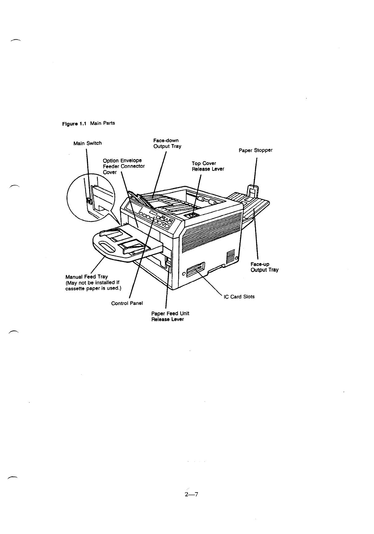 Kyocera Laserprinter Fs C Parts And Service Manual